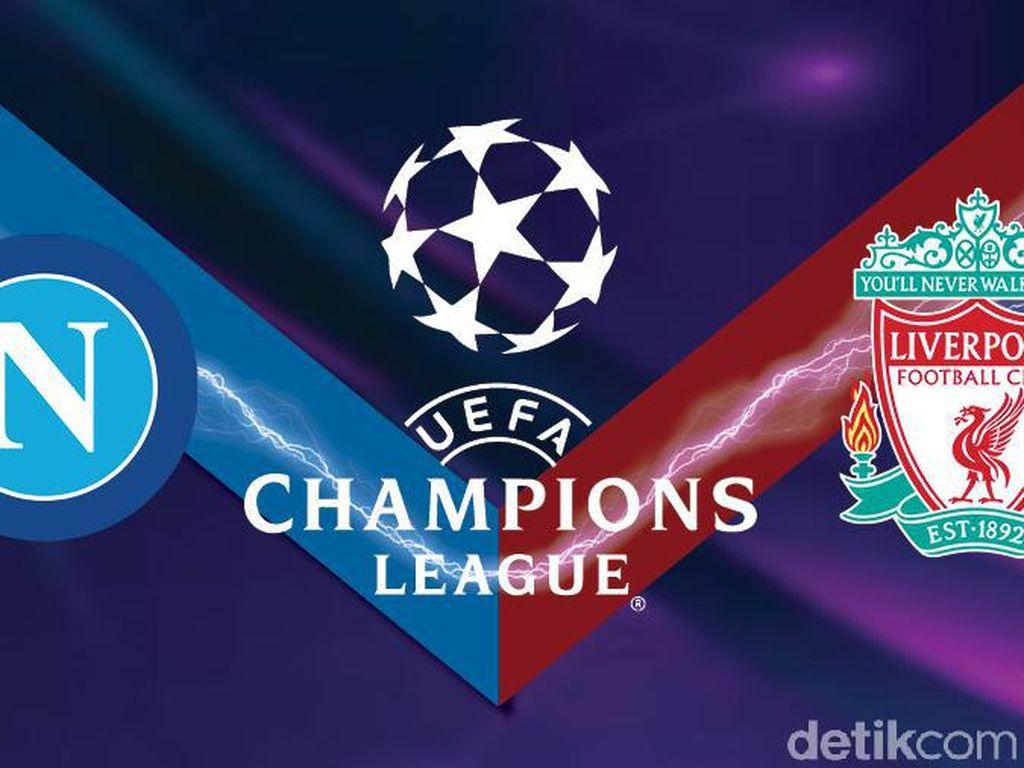 Napoli Vs Liverpool: Ujian Perdana Sang Juara Bertahan