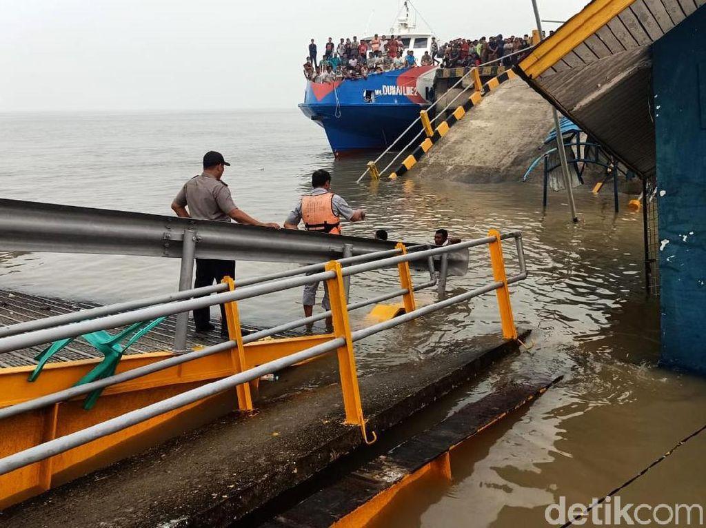 Korban Hilang Akibat Dermaga Ro-Ro di Riau Ambruk Ditemukan Tewas