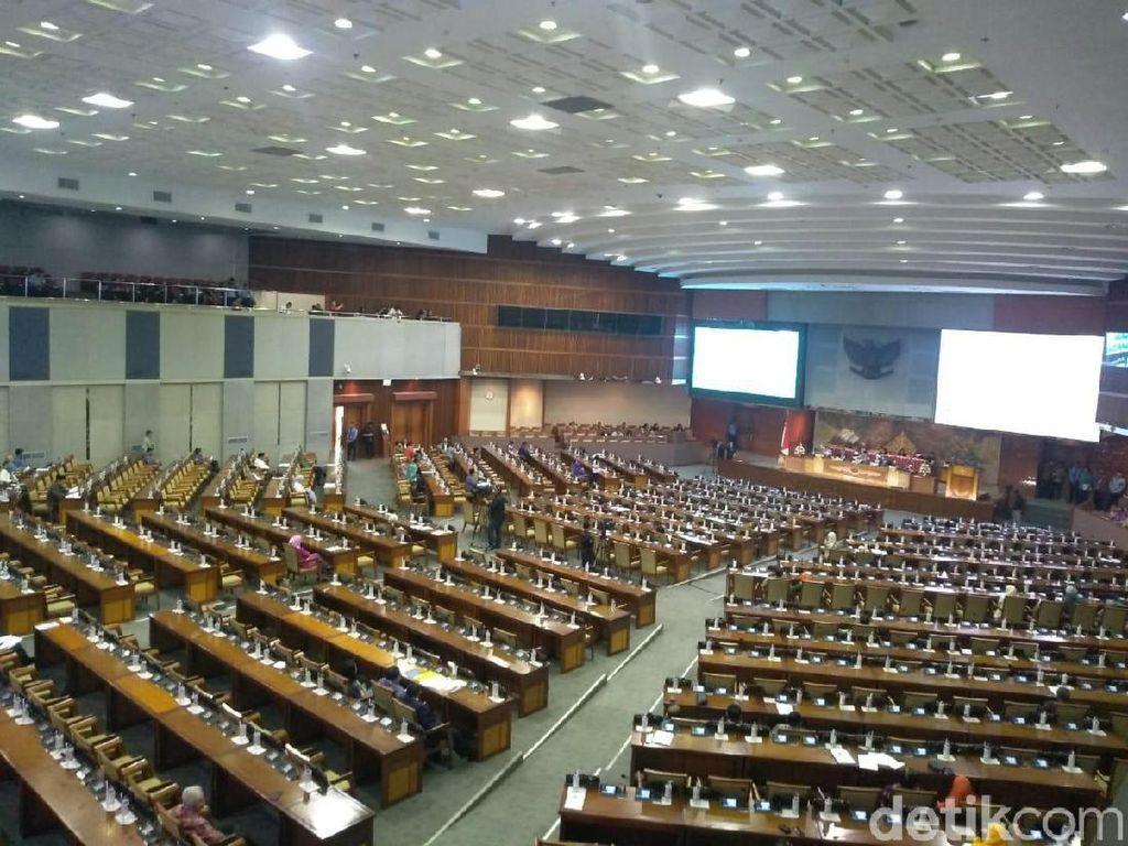 Video DPR Resmi Sahkan Revisi UU KPK