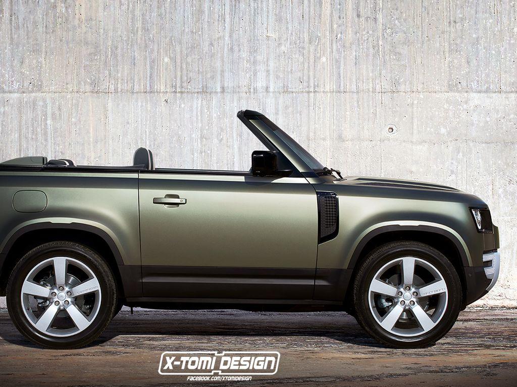 Land Rover Defender Model Baru Disulap Jadi Telanjang