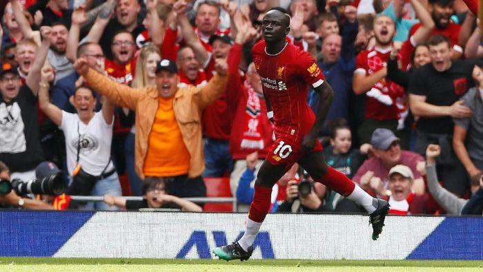 Sadio Mane menatap rekor Didier Drogba. (Foto: Jason Cairnduff /Action Images via Reuters)