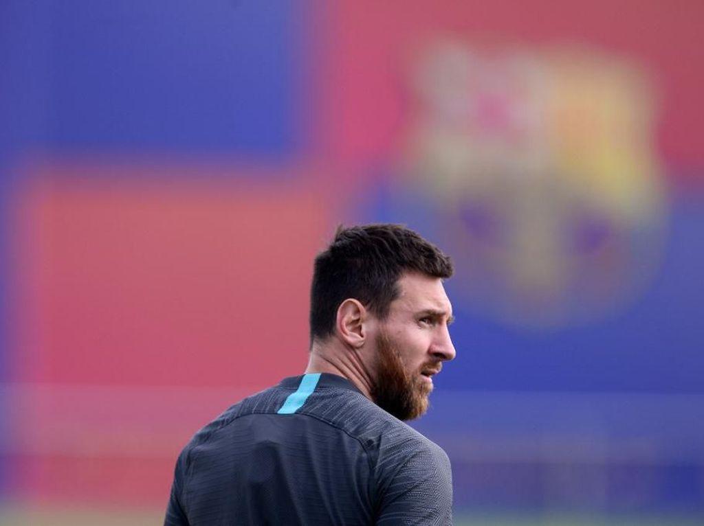 Busquets: Semoga Messi Tak Cedera Lagi