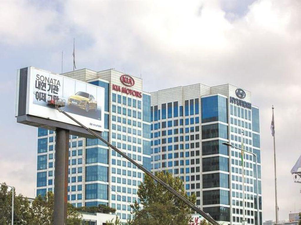 Papan Iklan Hyundai Dicoret Greenpeace: Jangan Ada Lagi Mesin Bakar