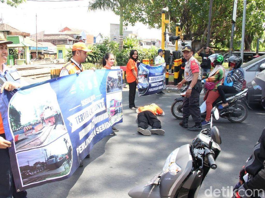 Lima Bulan, 17 Kecelakaan Terjadi di Perlintasan KA Daop 8 Surabaya