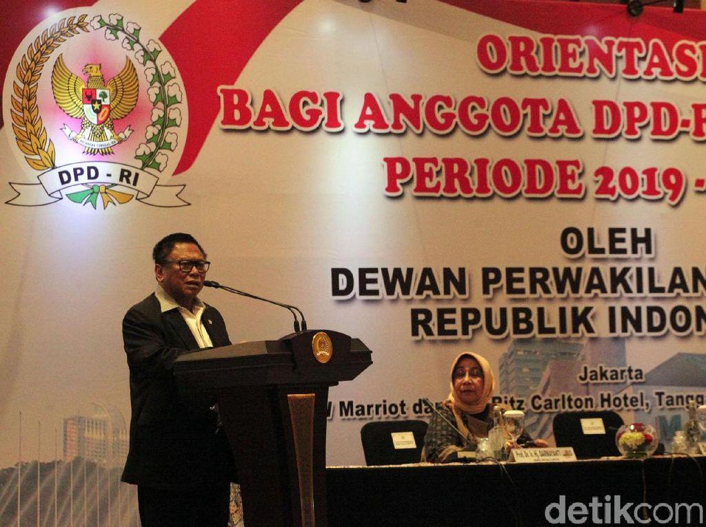 OSO Buka Orientasi DPD 2019-2024
