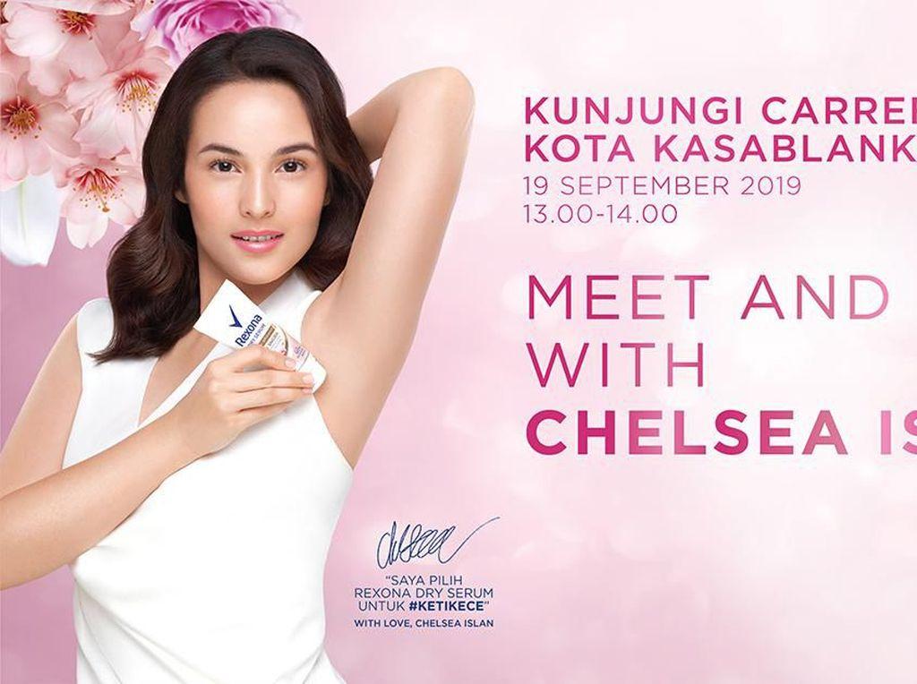 Yuk, Meet & Greet Bersama Chelsea Islan di Carrefour Kota Kasablanka!