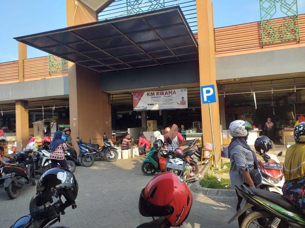 Wajah Pasar Penajam Sambut Datangnya Status Ibu Kota