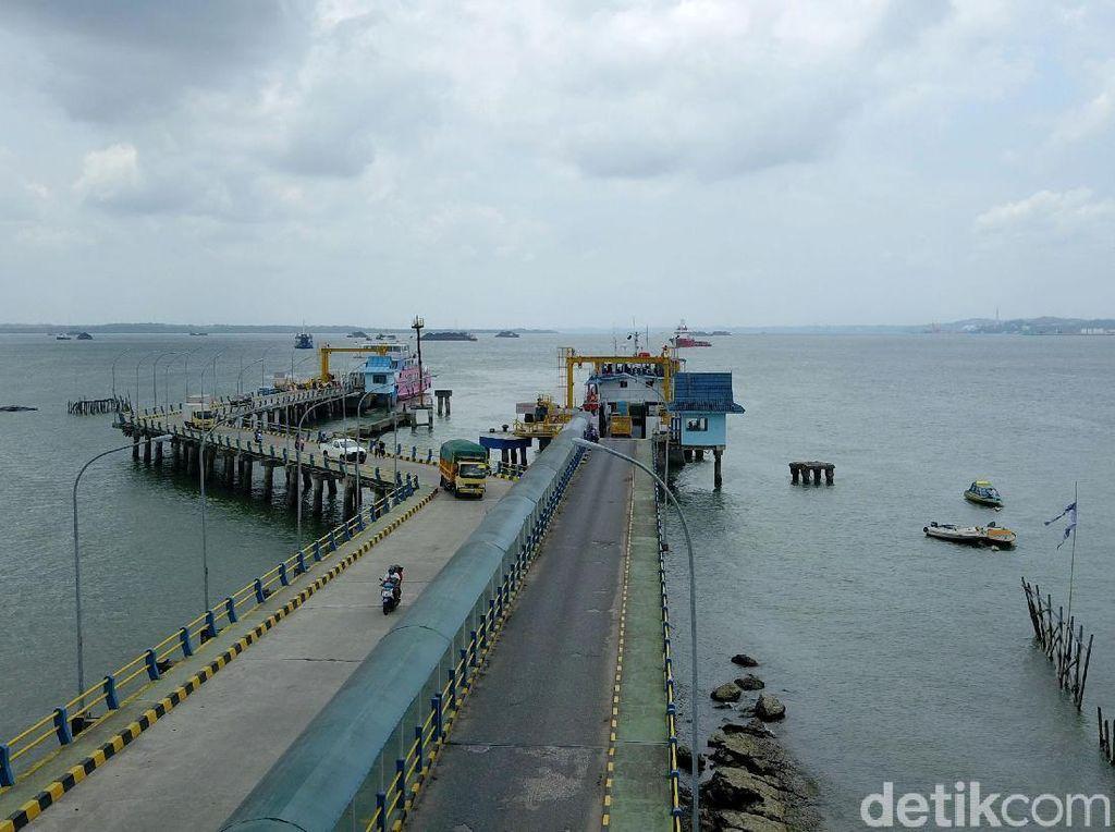 Kondisi Pelabuhan Penajam Terkendali, Kapal Penyeberangan Beroperasi Normal