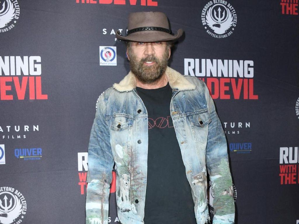 Bukan Brad Pitt, Joe Exotic Akan Diperankan Nicolas Cage