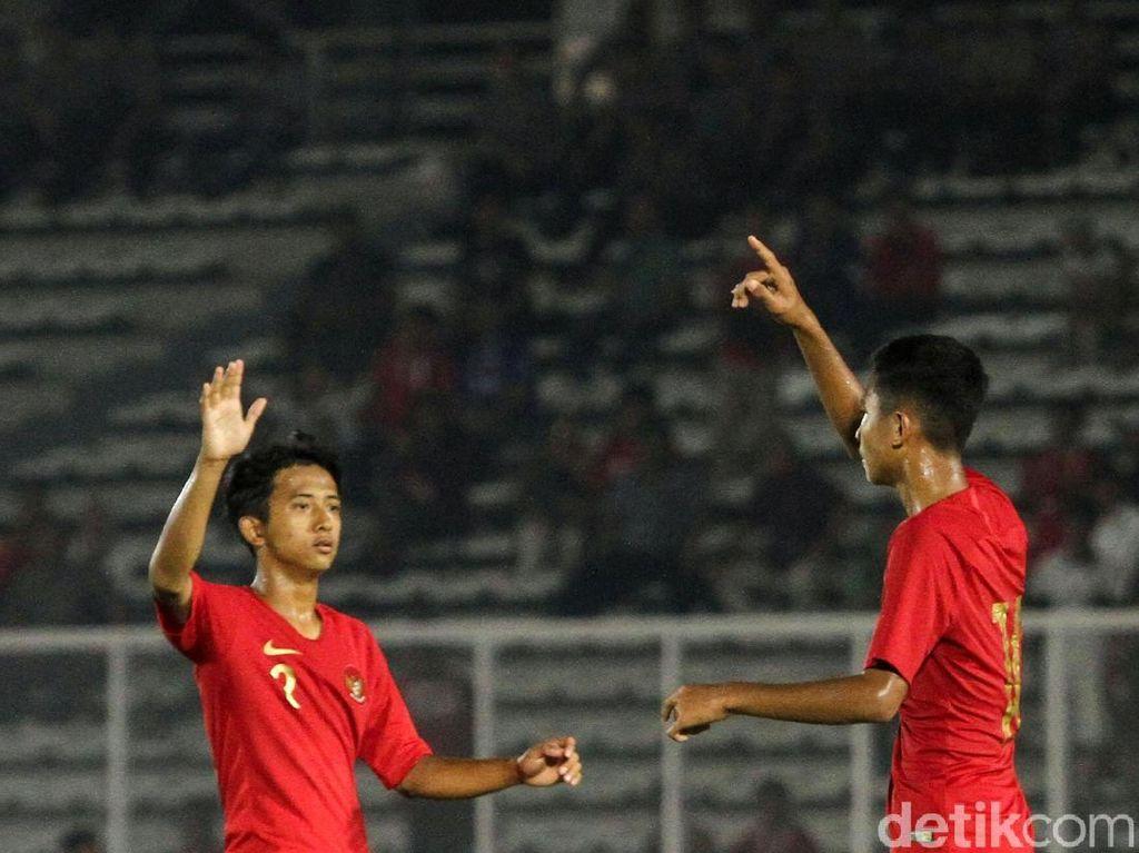Di Balik Sederhananya Selebrasi Gol Timnas Indonesia U-16