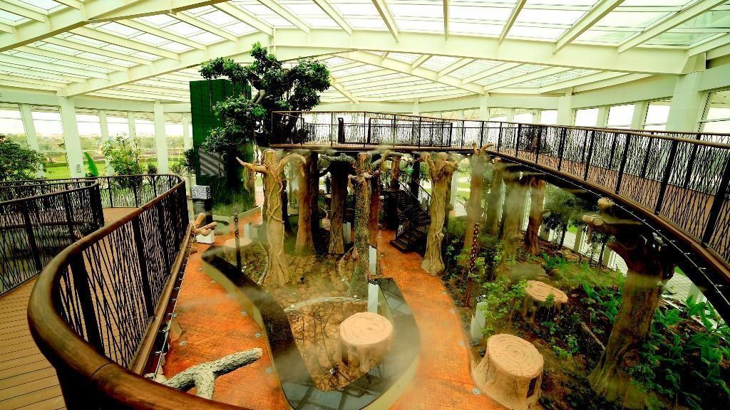 Foto: Wisata Muslim Quranic Park di Dubai