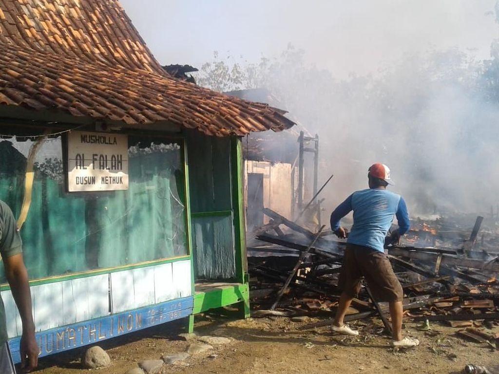 Ditinggal ke Sawah, 3 Rumah di Grobogan Ludes Terbakar