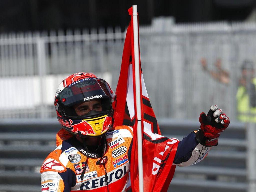 MotoGP Aragon: Marquez Buru Kemenangan ke-8