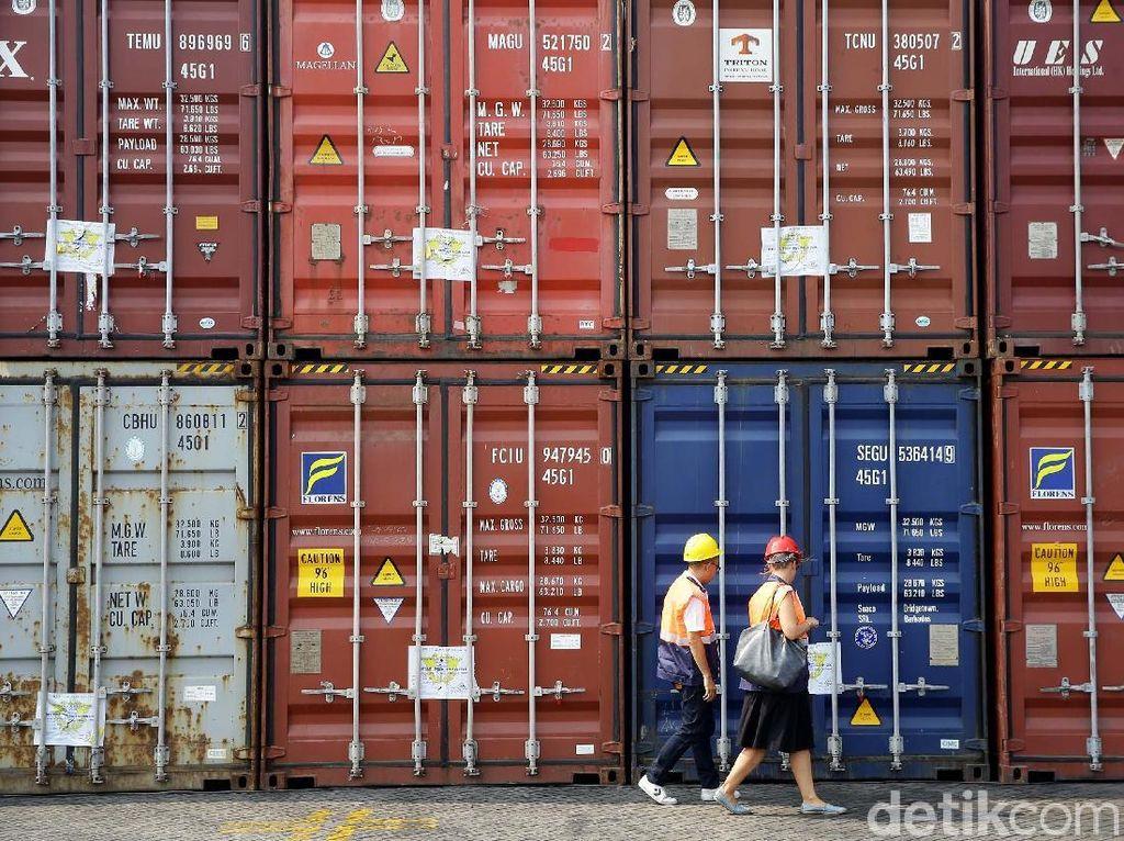 Ekspor RI ke China Turun Tajam