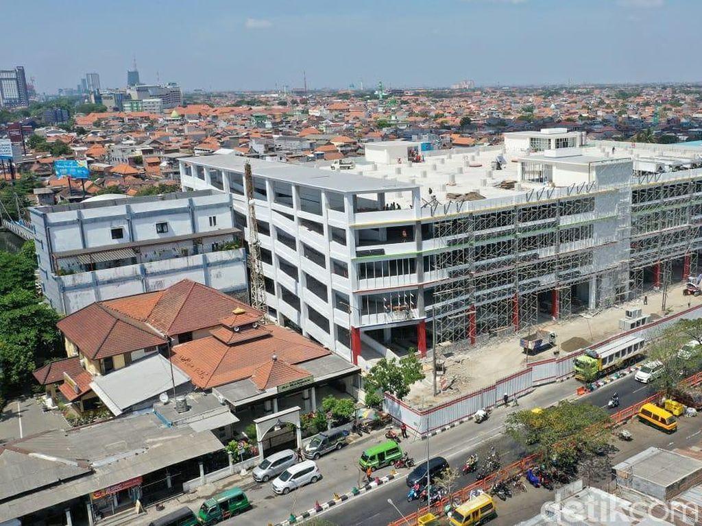 Pembangunan Park and Ride Terminal Joyoboyo Hampir Rampung