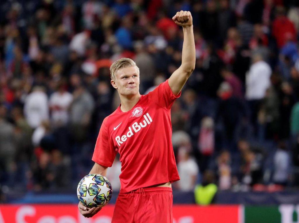 Bukan MU, Haaland Ingin Pindah ke Dortmund Sejak Awal