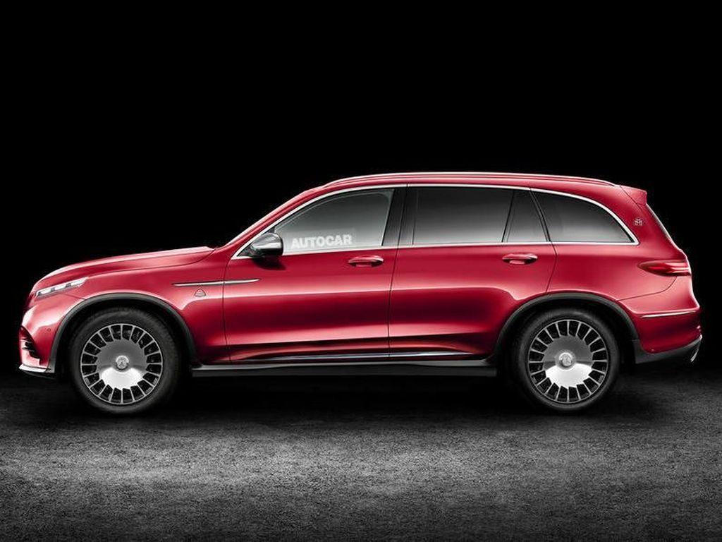 Keren! Mercedes-Maybach Luxury SUV Lahir Bulan Depan