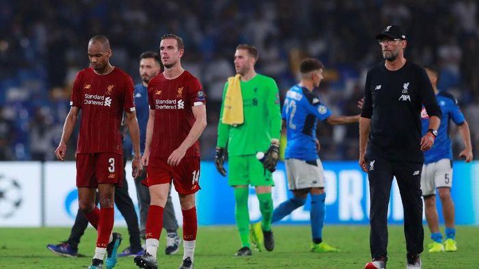 Liverpool selaku juara bertahan langsung kalah di partai pembuka Liga Champions (Andrew Couldridge/Reuters)