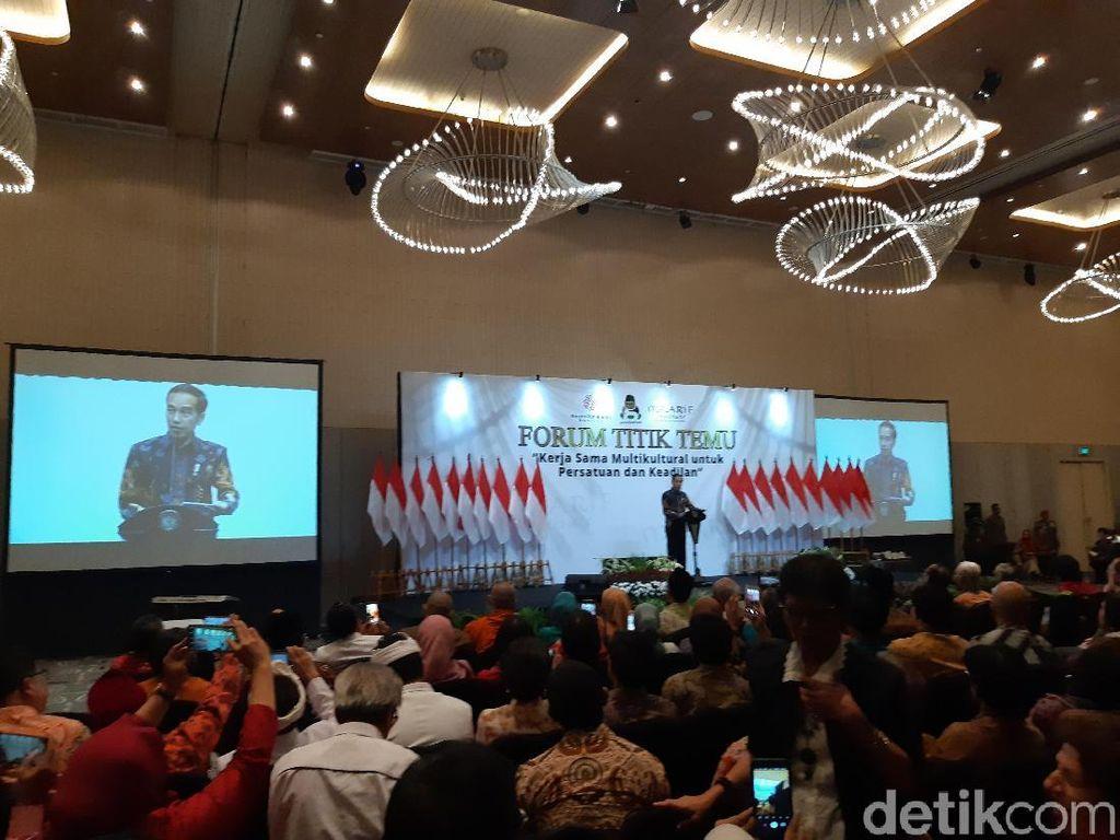 Jokowi Minta RI Belajar Toleransi dari UEA: Jangan Antek Asing, Aseng