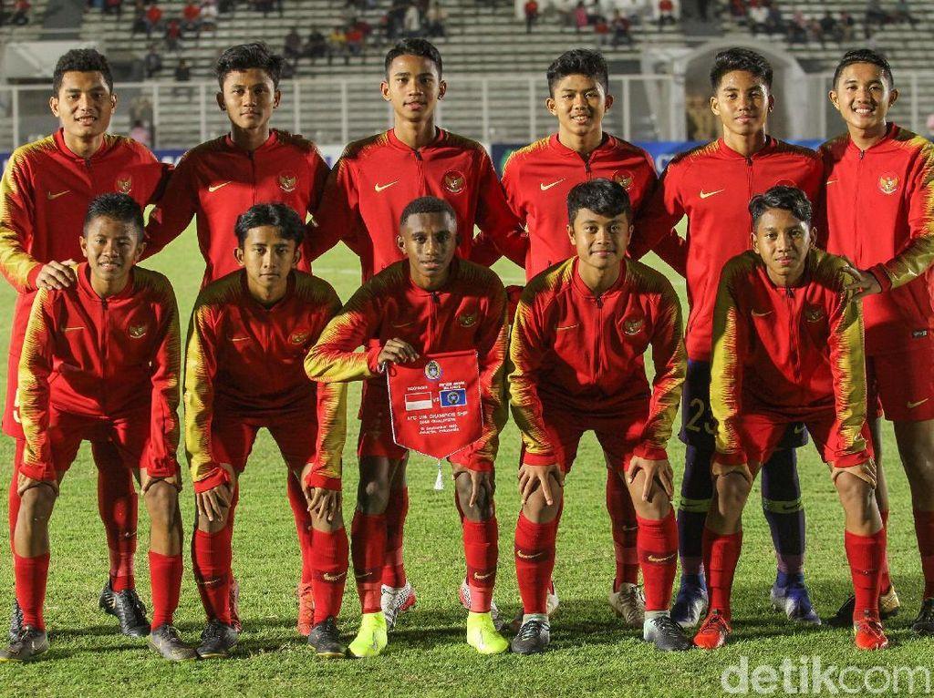 Timnas U-16 Sudahi Pemusatan Latihan di Cikarang