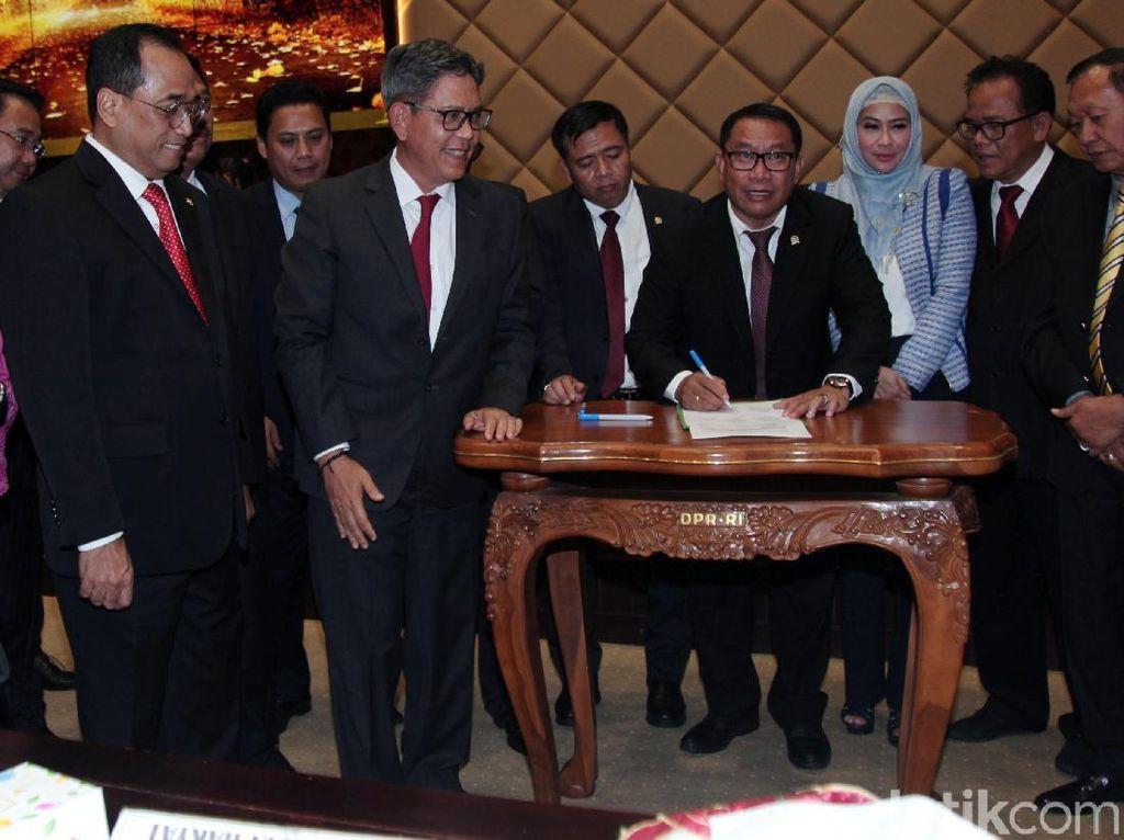DPR Setujui Anggaran Kemenhub Rp 43,11 Triliun