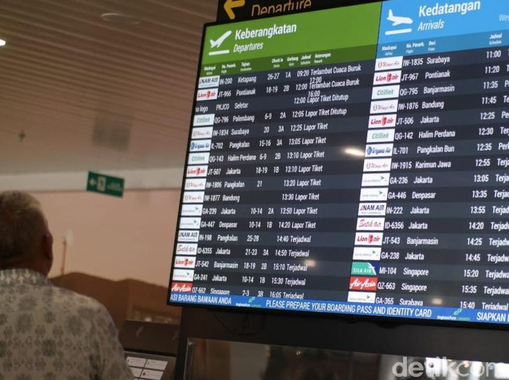 68 Penerbangan di Bandara Semarang Terdampak Kabut Asap