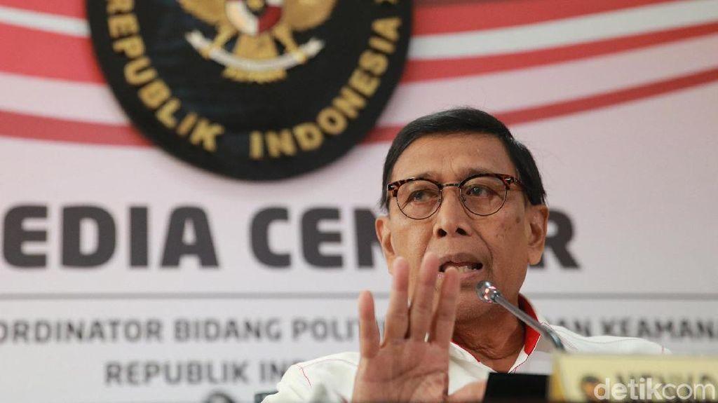 Wiranto Gelar Jumpa Pers soal Pro dan Kontra UU KPK
