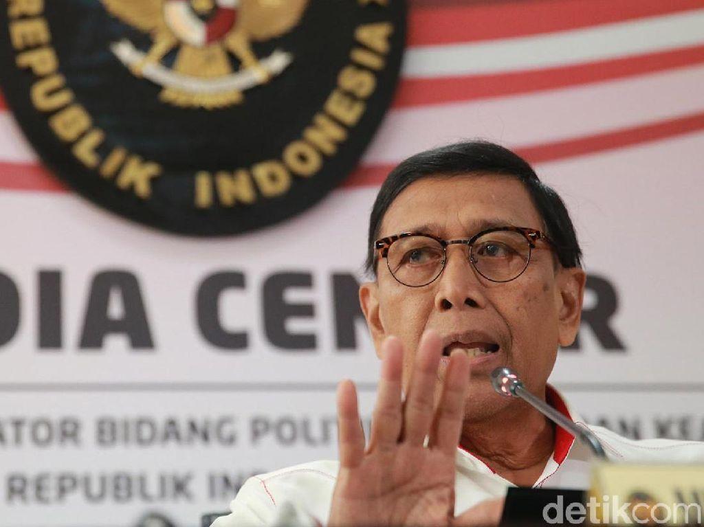 Jelaskan Pernyataan, Wiranto Ngaku Minta Ringankan Beban Korban Gempa Ambon