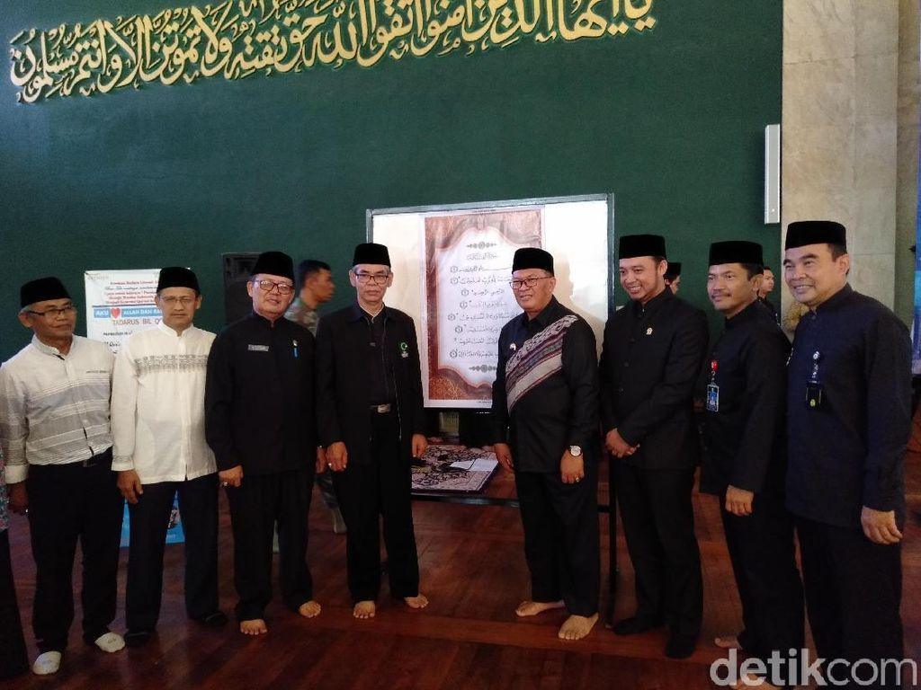 Kota Bandung Mulai Program Azan Serentak dan Kalibrasi Arah Kiblat