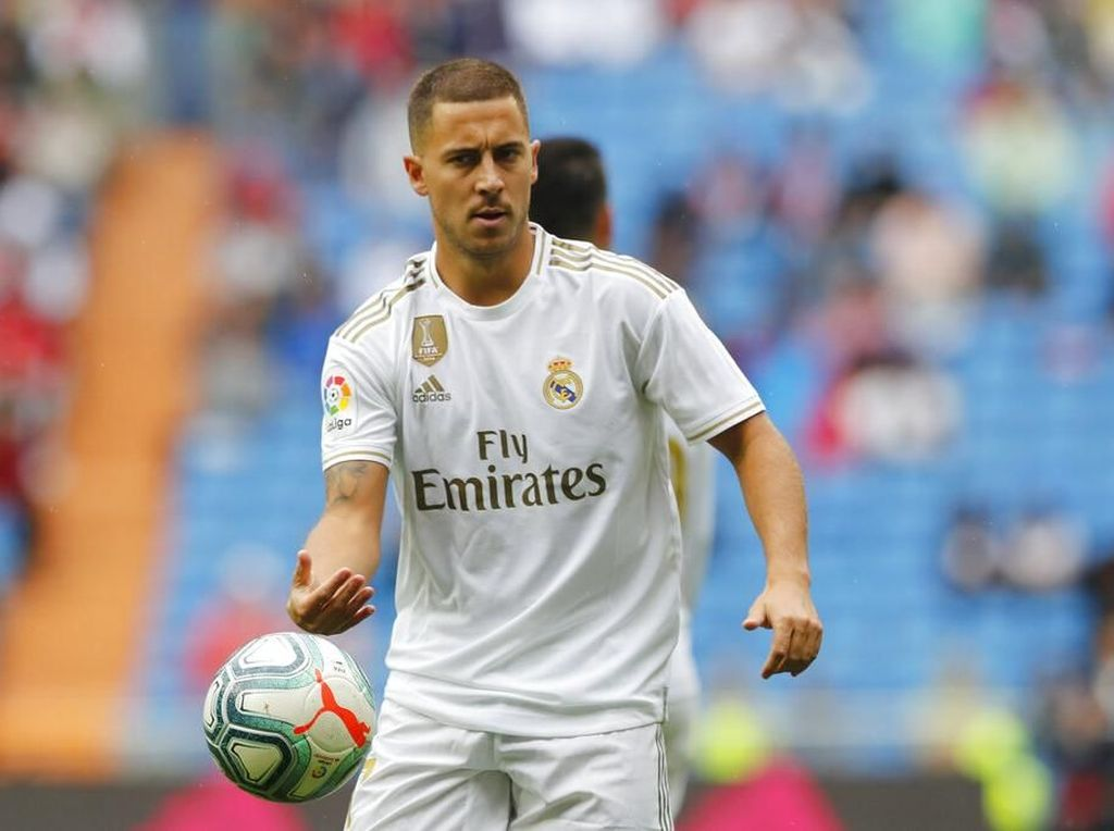 PSG Vs Madrid: Hazard Sudah Siap Jadi Starter