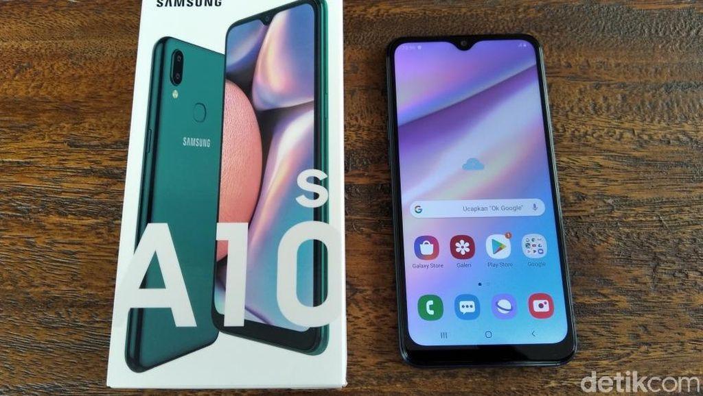 Penampakan Galaxy A10s, Ponsel Samsung Rp 1,9 Juta