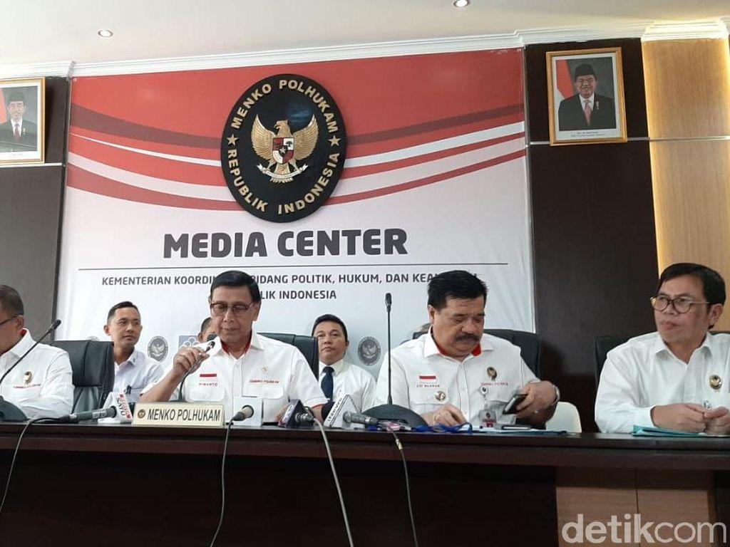 Wiranto Minta Jokowi Tak Dicurigai Terkait UU KPK Baru