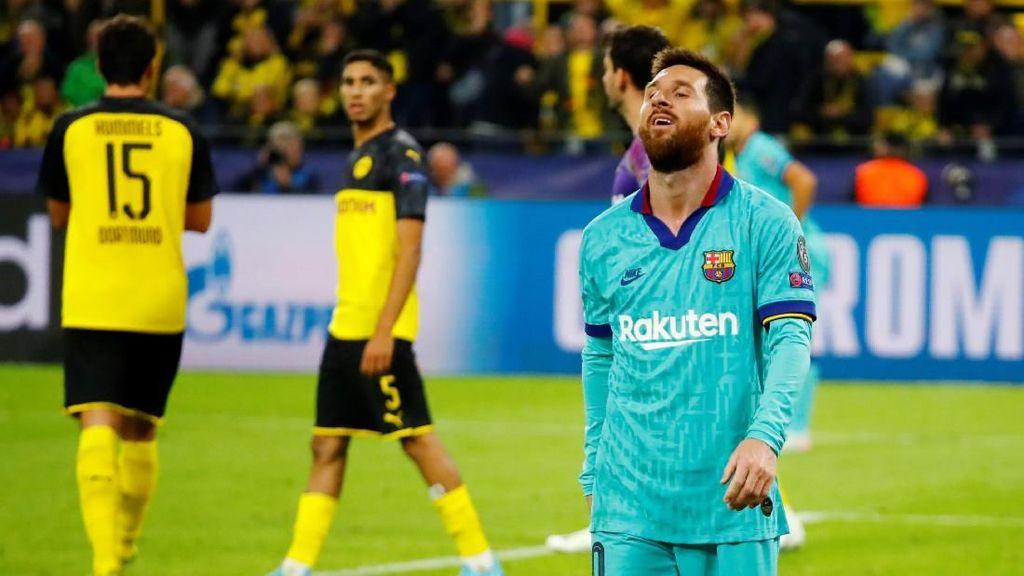 Barca Tak Istimewa, Imbang dengan Dortmund