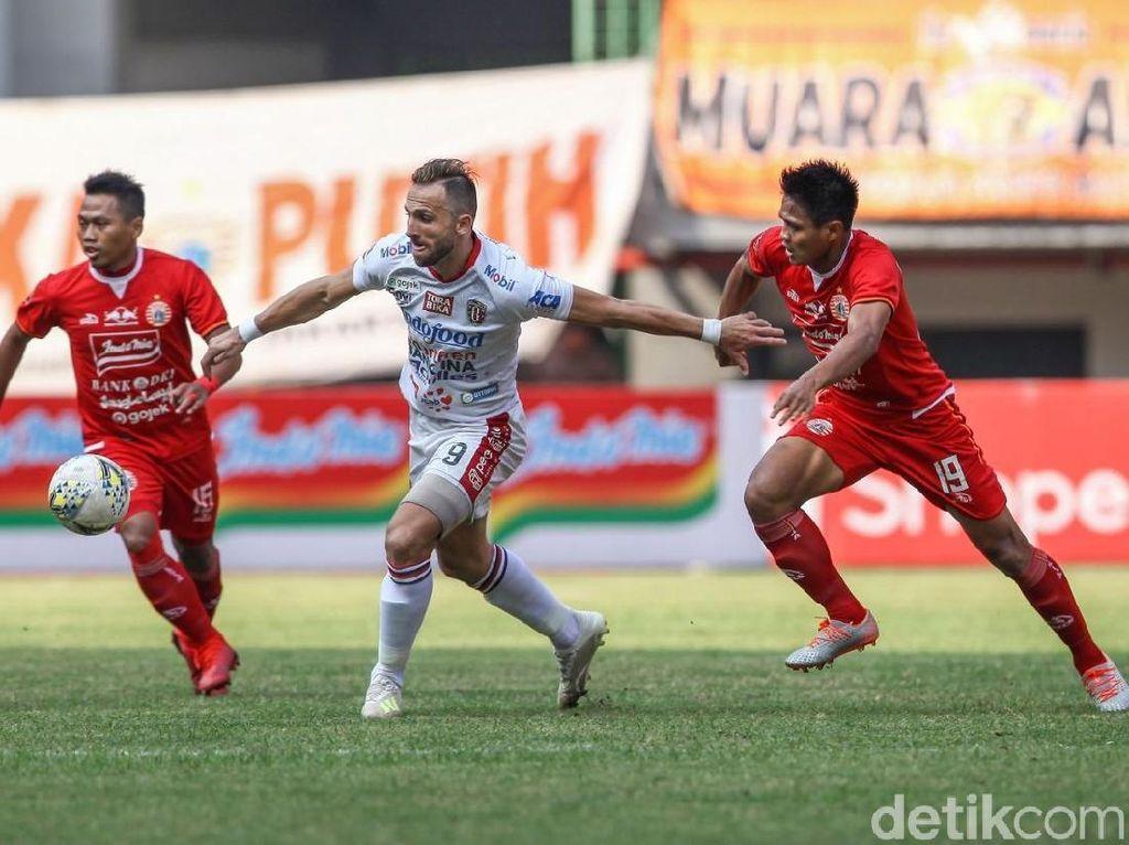 Persija Vs Bali United Imbang Tanpa Gol di Babak I