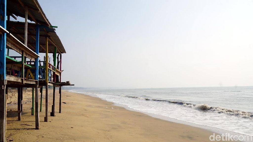Foto: Pantai Serupa Ancol di Ibu Kota Baru