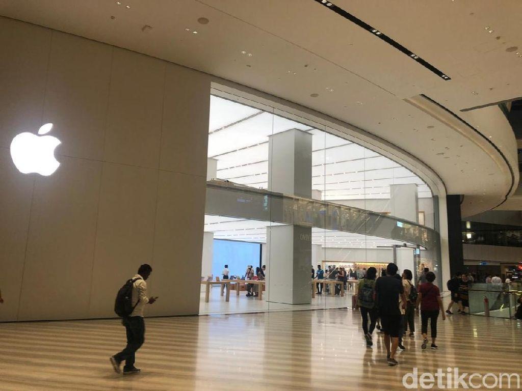 Apple Jewel Changi Tak Buka Antrean iPhone Baru