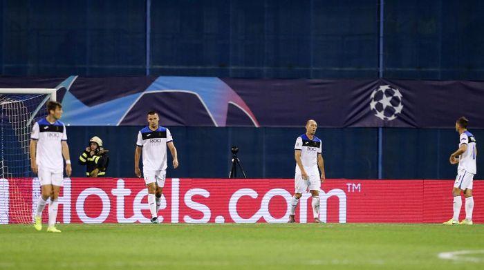 Debut Tragis Atalanta di Liga Champions: DIbantai Dinamo Zagreb (REUTERS/Antonio Bronic)
