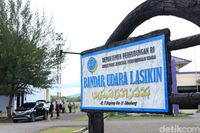 Bandar Udara Lasikin di Kabupaten Simeulue (Randy/detikcom)