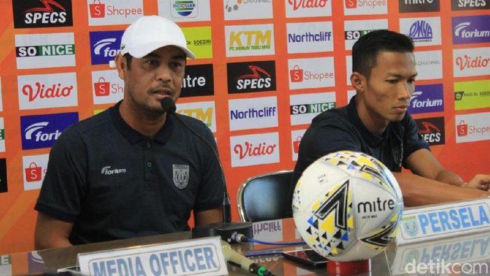 Pelatih Persela Lamongan Nilmaizar (Eko Sudjarwo/detikSport)