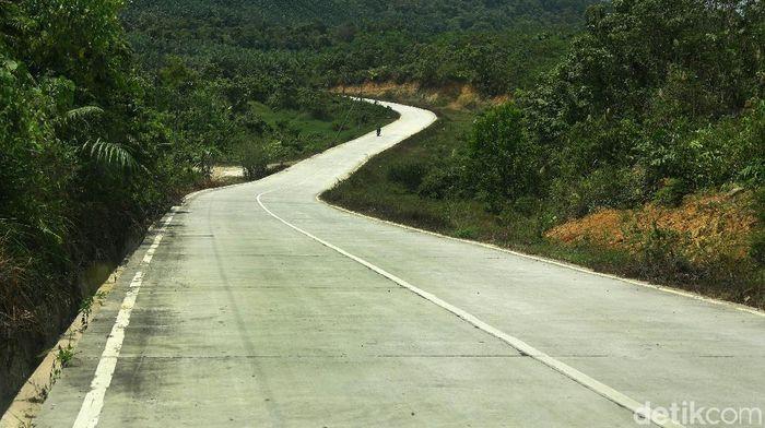 Kondisi Infrastruktur di Lokasi Ibu Kota Baru Foto: Rosyid