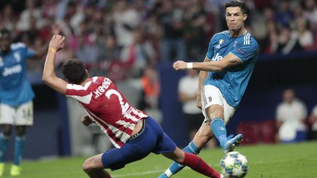 Bersama Juventus, Catatan Gol Ronaldo di Eropa Menurun