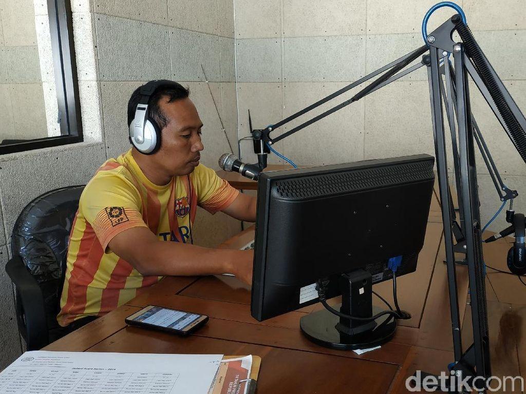 Cerita Rizky, Penyiar Radio yang Kabur Keluar Studio Saat Gempa
