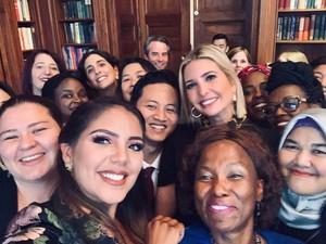 Bupati Trenggalek Eksis di Instagram Ivanka Trump