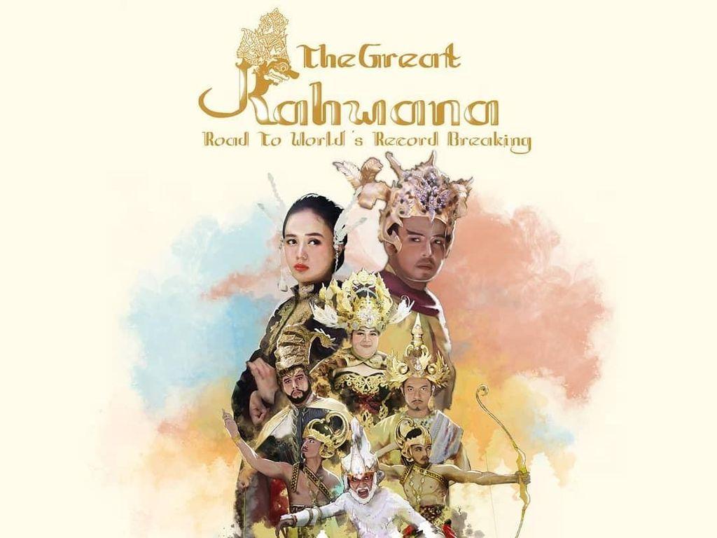 Menuju Rekor Dunia, Teater Keliling Pentaskan The Great Rahwana