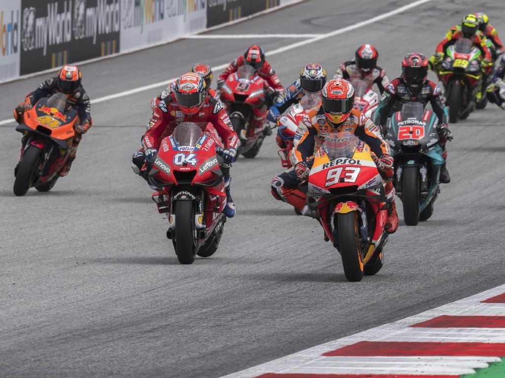Gara-gara Corona, Mungkinkah Musim MotoGP 2020 Ditiadakan?