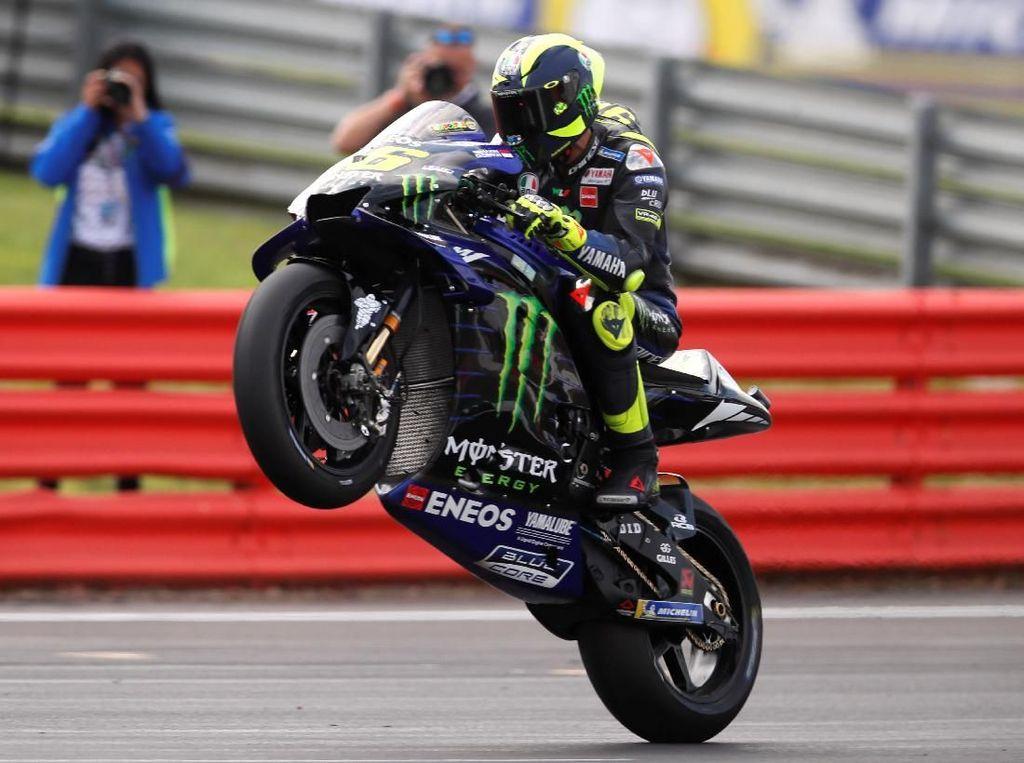 Rossi Menatap Balapan ke-400 di MotoGP Australia
