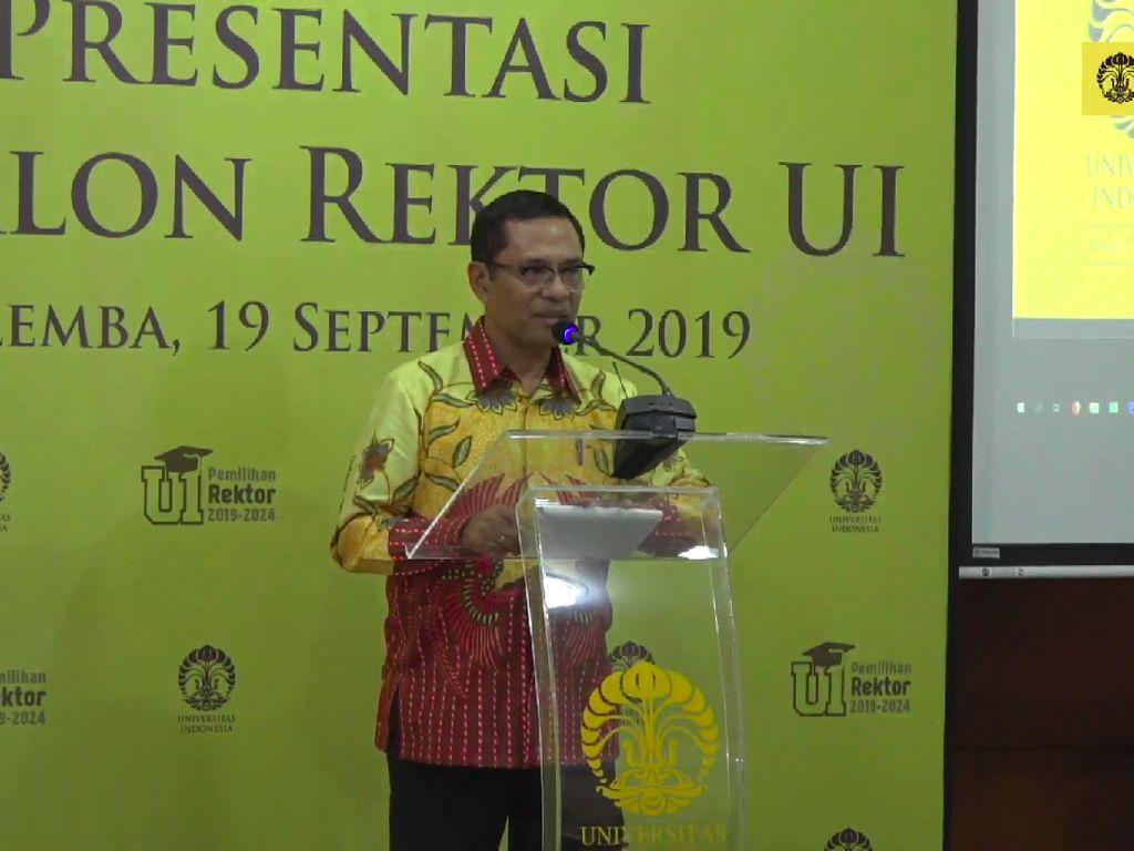 Presentasi 7 Calon Rektor Universitas Indonesia Digelar
