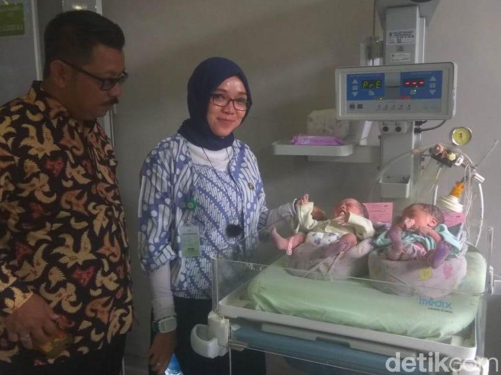 Bayi Kembar Tasikmalaya Lahir di Tanggal Cantik 19-9-19