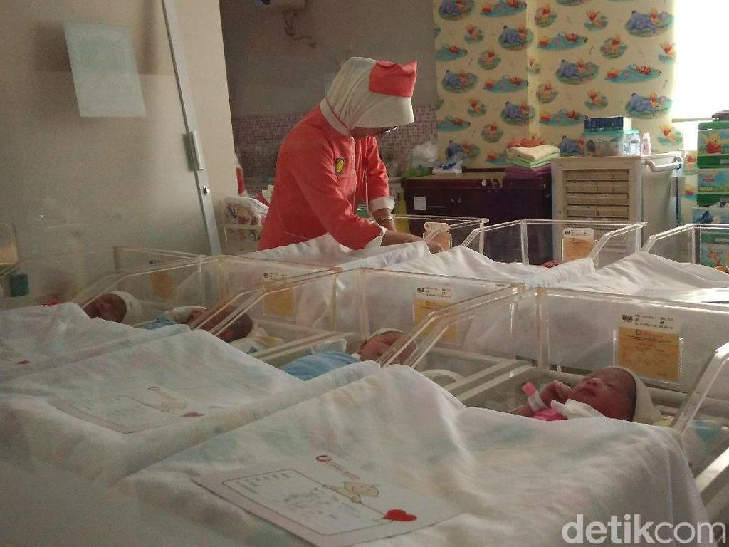 Lucunya... 9 Bayi Lahir Tanggal 19-9-19 di Rumah Sakit Cirebon