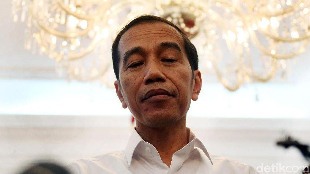 Ekspresi Jokowi Usai Menpora Lapor Mengundurkan Diri